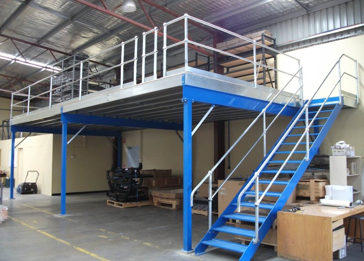 STRUCTURAL (MEZZANINE FLOORING) FABRICATION & ERECTION